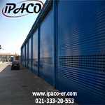 Industrial electric shutters